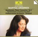 Beethoven: Piano Concertos No.1 Op.15 & No.2 Op.19/Martha Argerich, Philharmonia Orchestra, Giuseppe Sinopoli