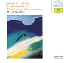 ラヴェル&ドビュッシー:弦楽四重奏曲/Melos Quartet