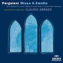 ペルゴレージ:<聖エミディウスのためのミサ曲>、他/Orchestra Mozart, Claudio Abbado