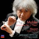 """Mahler: Symphony No.1 - """"Titan""""  / Mozart: Symphony No.32/Saito Kinen Orchestra, Seiji Ozawa"""