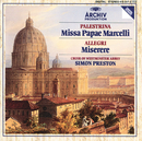 Palestrina: Missa Papae Marcelli / Allegri: Miserere/The Choir Of Westminster Abbey, Simon Preston
