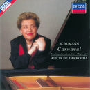 Schumann: Carnaval; Faschingsschwank aus Wien; Allegro in B Minor/Alicia de Larrocha