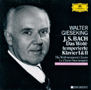 Bach: The Well-Tempered Clavier Book I& II BWV 846-893/Walter Gieseking
