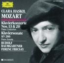 Mozart: Piano Concertos Nos.13 & 20; Piano Sonata K.280/Clara Haskil, Festival Strings Lucerne, RIAS Symphony Orchestra Berlin, Ferenc Fricsay, Rudolf Baumgartner