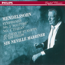 メンデルスゾーン:交響曲第3番<スコットランド>・第4番<イタリア>/Academy of St. Martin in the Fields, Sir Neville Marriner