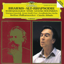 Brahms: Alto Rhapsody; Song of Destiny; Nänie; Song of the Fates/Marjana Lipovsek, Ernst Senff Chor, Ernst Senff, Rundfunkchor Berlin, Dietrich Knothe, Berliner Philharmoniker, Claudio Abbado