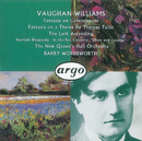 Vaughan Williams: Fantasia on a Theme by Thomas Tallis/The Lark Ascending etc./Hagai Shaham, The New Queen's Hall Orchestra, Barry Wordsworth