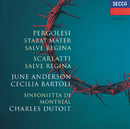 ペルゴレージ:スターバト・マーテル、サルヴェ・レジーナ/June Anderson, Cecilia Bartoli, Sinfonietta de Montréal, Charles Dutoit