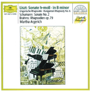 Liszt: Sonata in B minor; Hungarian Rhapsody / Schumann: Sonata No.2 / Brahms: Rhapsodies Op.79/Martha Argerich