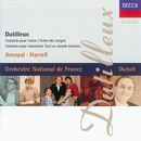 Dutilleux: Violin Concerto; Cello Concerto/Pierre Amoyal, Lynn Harrell, Orchestre National De France, Charles Dutoit