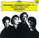 ショスタコーヴィチ:弦楽四重奏曲第4,1番/Hagen Quartett
