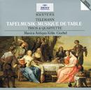 Telemann: Tafelmusik (Trios und Quartette)/Musica Antiqua Köln, Reinhard Goebel