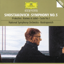 ショスタコーヴィチ:交響曲第5番、他/National Symphony Orchestra Washington, Mstislav Rostropovich