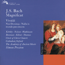 Bach, J.S. / Vivaldi: Magnificat / Nisi Dominus / Nulla in Mundo Pax Sincera etc./Judith Nelson, Emma Kirkby, Carolyn Watkinson, James Bowman, Paul Elliott, David Thomas, Choir of Christ Church Cathedral, Oxford, The Academy of Ancient Music, Christopher Hogwood, Simon Preston