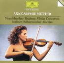 メンデルスゾーン/ブラームス:ヴァイオリン協奏曲/Anne-Sophie Mutter, Berliner Philharmoniker, Herbert von Karajan