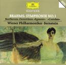 """Brahms: Symphony No.1 / Beethoven: Overtures """"Egmont"""" & """"Coriolan""""/Wiener Philharmoniker, Leonard Bernstein"""