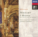 Mozart: Five Masses/The Choir of King's College, Cambridge, Wiener Staatsopernchor
