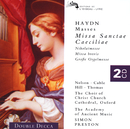 Haydn: Four Masses/Choir of Christ Church Cathedral, Oxford, The Academy of Ancient Music, Simon Preston