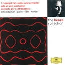 Henze: Violin Concerto No.1; Ode to West Wind; Double Bass Concerto/Wolfgang Schneiderhan, Siegfried Palm, Gary Karr, Hans Werner Henze