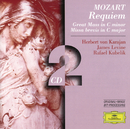 Mozart: Requiem; Great Mass in C minor; Missa brevis in C major/Berliner Philharmoniker, Herbert von Karajan, Wiener Philharmoniker, James Levine, Symphonieorchester des Bayerischen Rundfunks, Rafael Kubelik