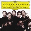 モーツァルト&ブラームス:クラリネット五重奏曲/Emerson String Quartet, David Shifrin
