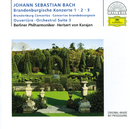 バッハ:ブランデンブルク協奏曲第1~3番/Berliner Philharmoniker, Herbert von Karajan