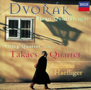Dvorák: Piano Quintet in A/String Quartet No.10/Andreas Haefliger, Takács Quartet