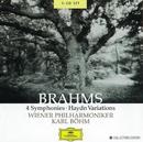 Brahms: 4 Symphonies; Haydn Variations (3 CD's)/Wiener Philharmoniker, Karl Böhm