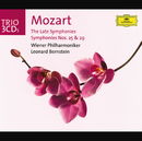 Mozart: The Late Symphonies; Symphonies Nos.25 & 29/Wiener Philharmoniker, Leonard Bernstein