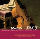 Marais-Pièces de viole Inédites vol II/Jonathan Dunford, Sylvia Abramowicz, Laurent Stewart, Benjamin Perrot