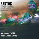 Bartok-Oeuvres violon/Piano-Sonate-Danses populaires,rhapsod ies/Maryvonne Le Dizes, Pierre-Laurent Aimard