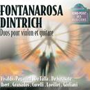 Duos-Oeuvres de vivaldi,paganini,falla, sarasate, ibert, granados, etc/Patrice Fontanarosa, Michel Dintrich