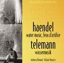 ヘンデル:水上の音楽/Anthony Bernard, Roland Douatte, London Chamber Orchestra, Collegium Musicum De Paris