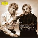 ブラームス:ピアノ協奏曲第1番/Krystian Zimerman, Berliner Philharmoniker, Simon Rattle