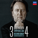 Beethoven: Symphonies Nos.3 & 4/Gewandhausorchester Leipzig, Riccardo Chailly