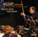 "Mozart: Symphonies Nos. 29, K.201; 33, K.319; 35, K.385 ""Haffner""; 38, K.504 ""Prague""; 41, K.551 ""Jupiter""/Orchestra Mozart, Claudio Abbado"
