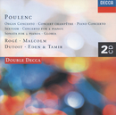 Poulenc: Piano Concerto/Organ Concerto/Gloria etc./Pascal Rogé, George Malcolm, Philharmonia Orchestra, Charles Dutoit