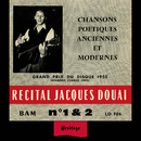 Heritage - Récital N°1 & 2 - BAM (1954-1955)/Jacques Douai