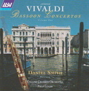 Vivaldi Bassoon Concertos Vol. 1/Daniel Smith, English Chamber Orchestra, Sir Philip Ledger