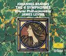 Brahms: Symphonies Nos. 1-4; Alto-Rhapsody; Tragic Overture/Anne Sofie von Otter, Wiener Philharmoniker, Arnold Schoenberg Chor, James Levine