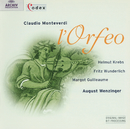 Monteverdi: L'Orfeo/Orchester der Sommerlichen Musiktage Hitzacker 1955, August Wenzinger