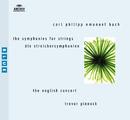 C.P.E.バッハ:弦楽のための交響曲/The English Concert, Trevor Pinnock