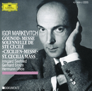 グノー:「聖チェチリーア・ミサ」「荘厳ミサ」/Hermann Uhde, Irmgard Seefried, Gerhard Stolze, Czech Choir Prague, Czech Philharmonic Orchestra, Igor Markevitch