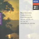 Beethoven: Piano Sonatas Nos. 14, 15, 17, 21-24 & 32/Friedrich Gulda
