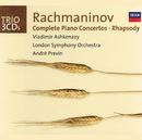 Rachmaninov: Complete Piano Concertos/Rhapsody on a Theme of Paganini/Vladimir Ashkenazy, London Symphony Orchestra, André Previn