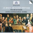 バッハ:フーガの技法/Musica Antiqua Köln, Reinhard Goebel
