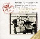 シューベルト:アルペジオーネ・ソナタ、他/Mstislav Rostropovich, Benjamin Britten