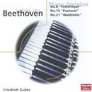 Beethoven: Piano Sonatas Nos. 8, 15, 21, & 22/Friedrich Gulda