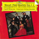 モーツァルト:フルート四重奏曲(全曲)他/Emerson String Quartet, Carol Wincenc