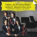 "Schubert: String Quartet ""Death and the Maiden"" D 810 / Beethoven: String Quartet ""Quartetto serioso"" Op.95/Emerson String Quartet"